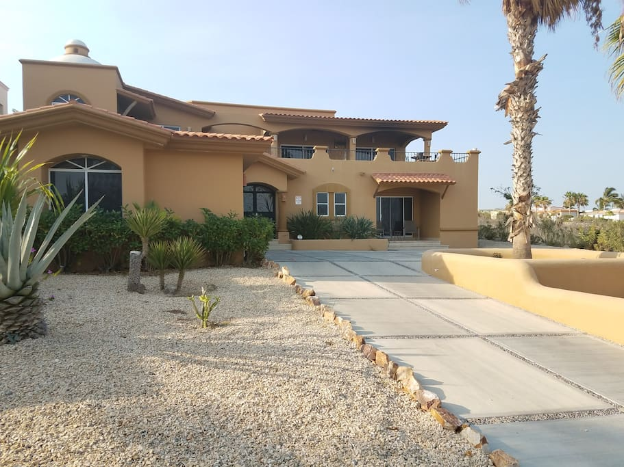 Street view of our Cabo home.  Private home all to yourself.