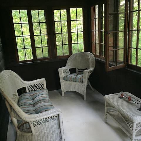 Jim's place - Conway - Blockhütte