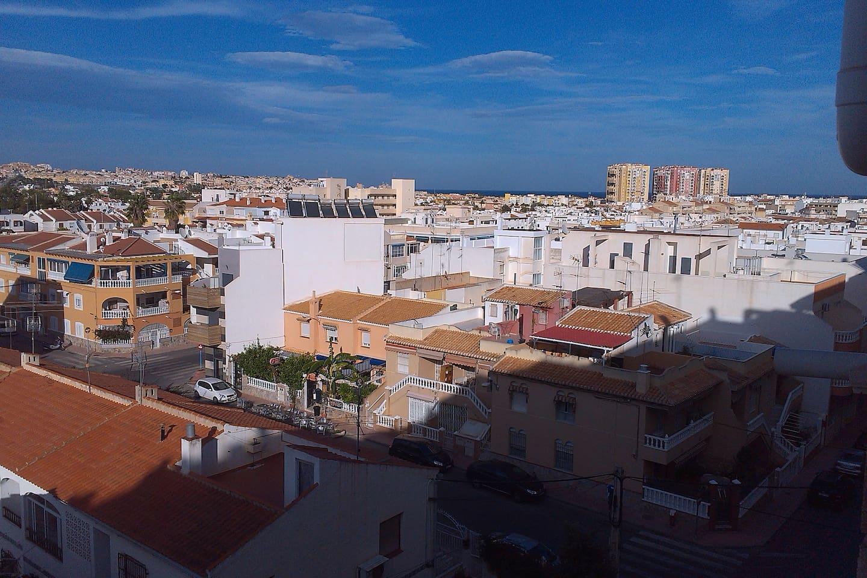 Aussicht vom Balkon mit Meerblick