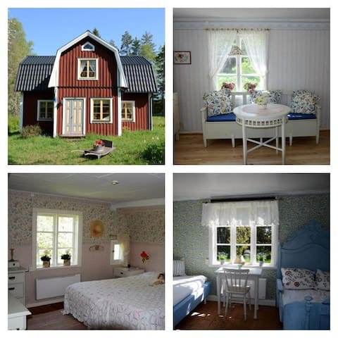 Charming cottage in the middle of nature - Månkarbo - Cottage
