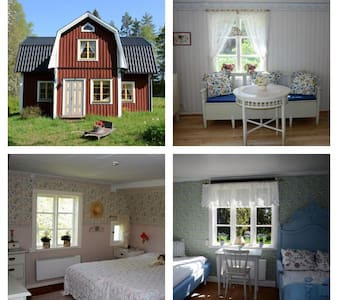 Charming cottage in the middle of nature - Månkarbo