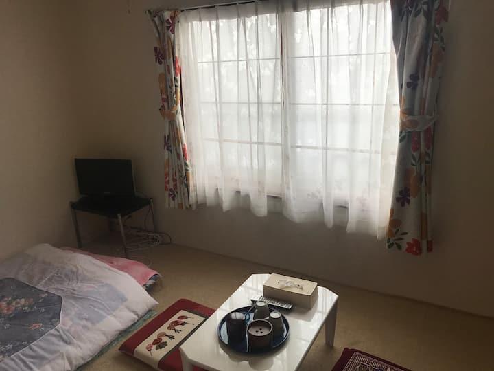10号室、1人3人和室、滞在宿泊型One person two people stay type