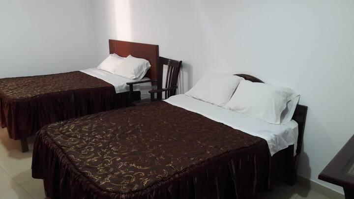 """Habitación Doble - Hotel """"Sol de Parakas"""""""