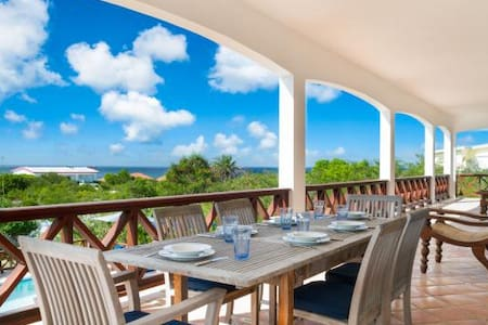 Tamarind Villa - Luxurious 5 bedroom villa overlooking the ocean - Shoal Bay VIllage