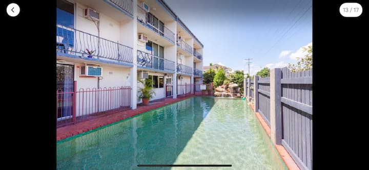 Private and Peaceful Unit with Pool View