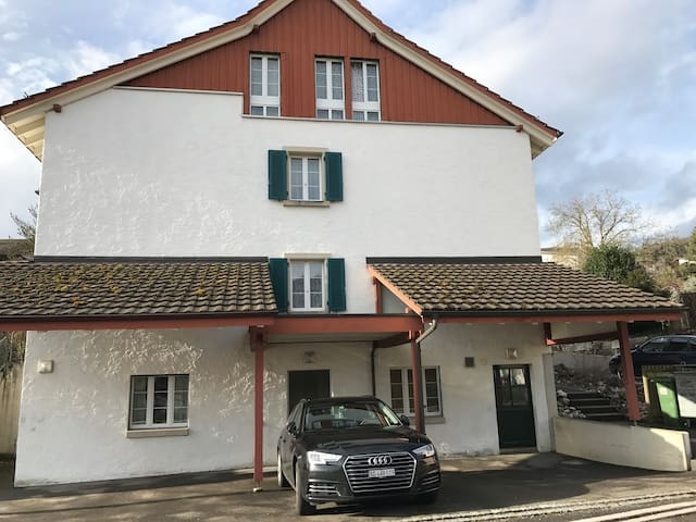 Completely new established apartment good location - Erlinsbach