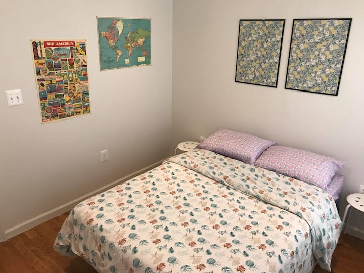 Bedroom #One in Private Two Bedroom Apartment