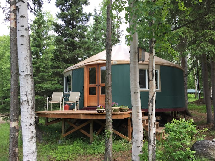 Unique experience: deluxe yurt in Anchorage