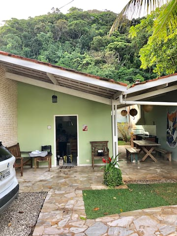 Casa aconchegante em Camburi