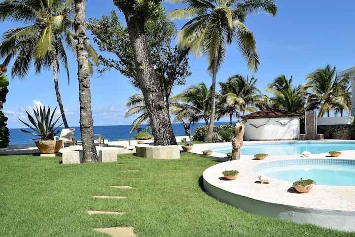 🍹🌴 VILLA CONTI 13 🍹🌴 3 br Oceanfront in Sosua