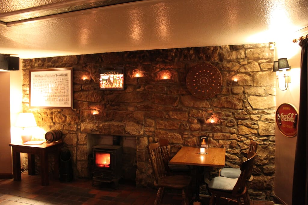 Fully licensed pub with log burning Stove.