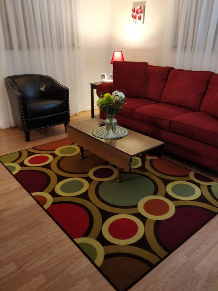 Comfy relaxing apartment Red