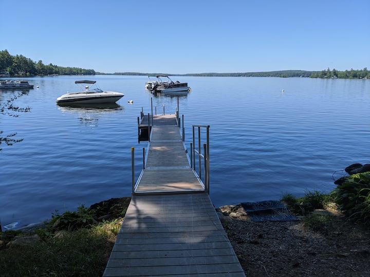 Lake Cobbossee-Fish, Golf -A reel deal!