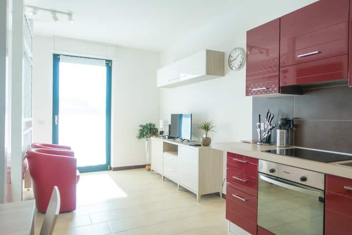 Apartment Victoria, LakeMaggiore & LeonardoAcademy