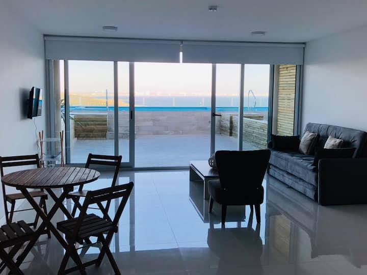 Departamento con vistas soñadas en Punta Ballena