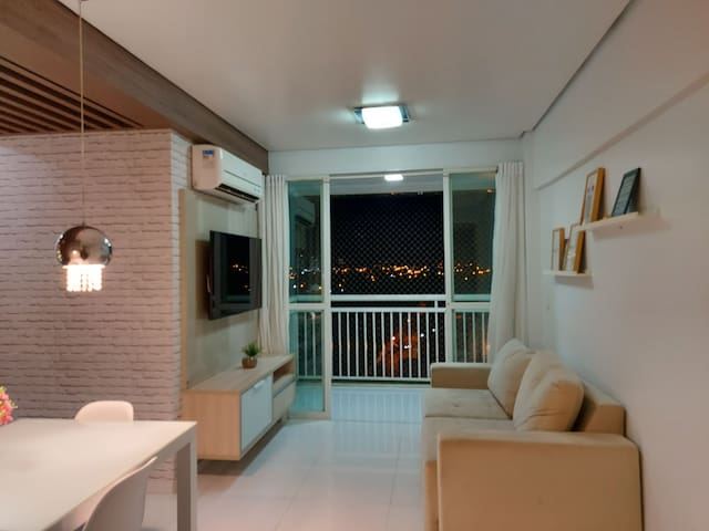 Apartamento Mobiliado - Prox ao Centro e Shoppings