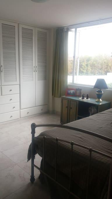 Room entrance angle