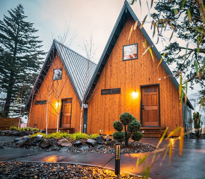 Boutique cottages in the heart of Columbia Gorge