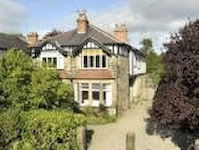 Harrogate Edwardian House. 5 bedrooms. Sleeps 7.