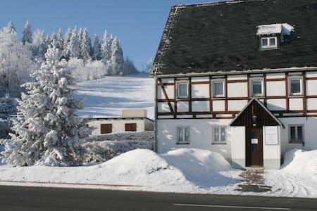 Ferienhaus am Skihang - Altenberg