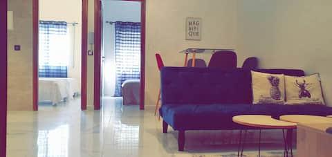 Luxueux / Moderne appart (8) quartier sécuritaire
