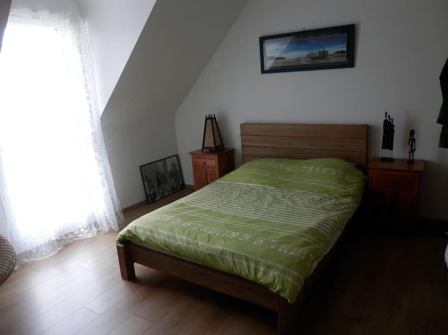 la chambre de l'etage(13 m2)
