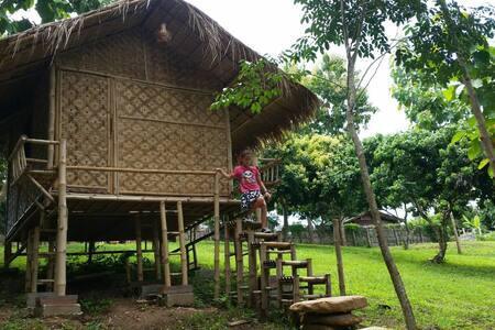 ์Nan De Panna Bamboo Hut - Cabin
