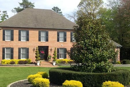 Br in Beautiful brick home, wooded - Woodbine - Haus