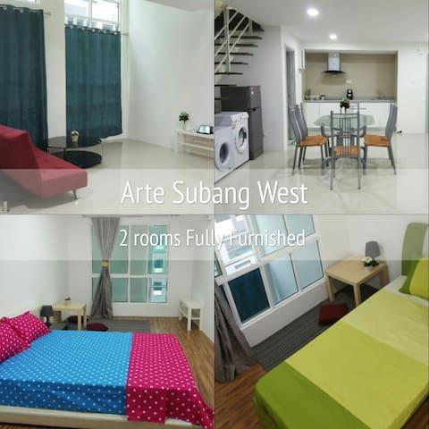 Arte Subang West Duplex SOHO - Shah Alam - Flat