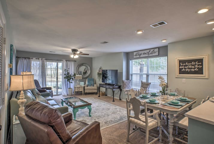 Head to Branson and stay at this vacation rental in the Holiday Hills Resort!