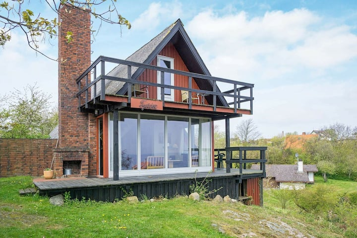 Modern Holiday Home in Allinge Bornholm with Sea view