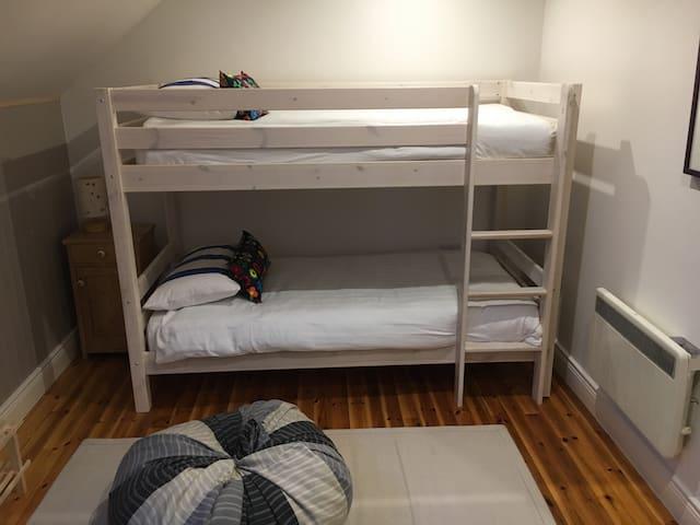 2nd room Bunk beds en suite