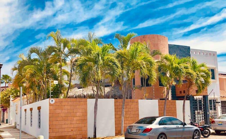 5 brm villa in the heart of puerto vallarta