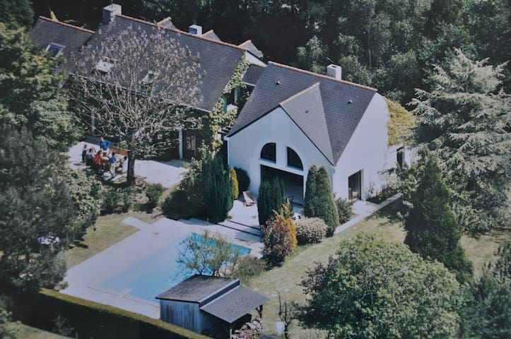 Grande Maison 5 Chambres + Piscine - Vigneux-de-Bretagne - Dom