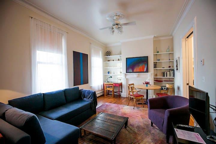 Spacious Private 1-Bedroom Apartment