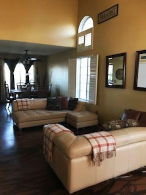 Pristine Living Room