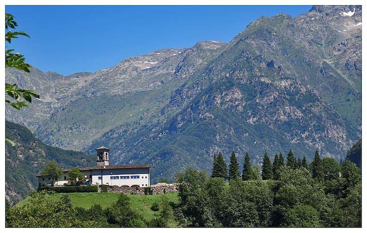 Relax e natura in alta montagna - Gandellino - Apartment