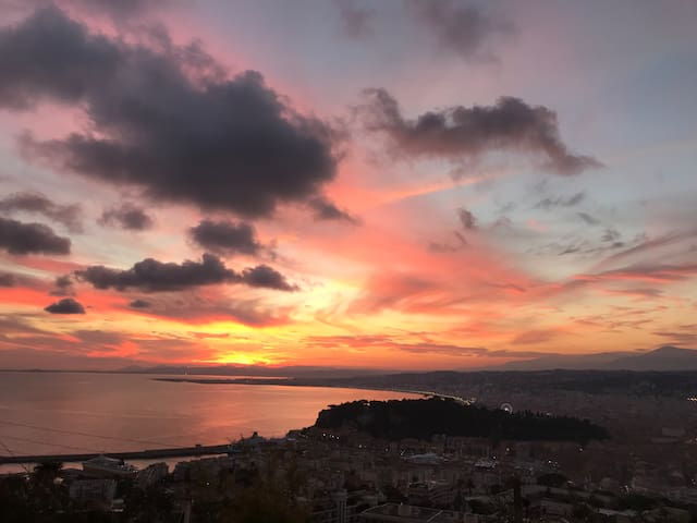 Nice, Mont Boron, vue panoramique