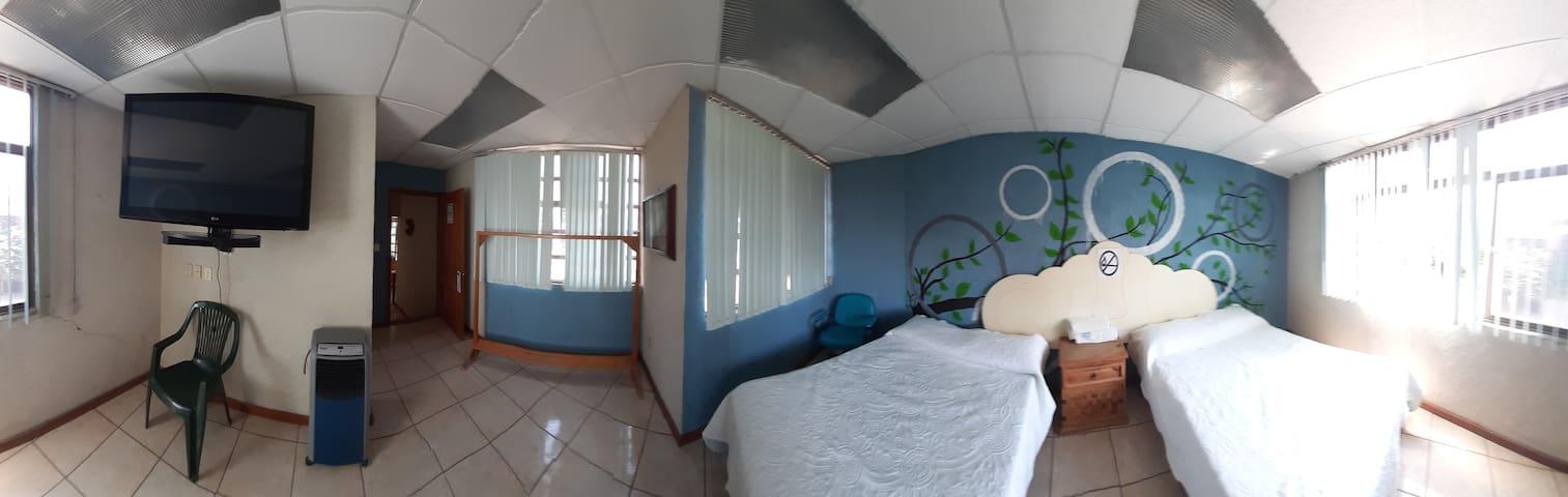 Departamento los pinos habitación Máster Suite.