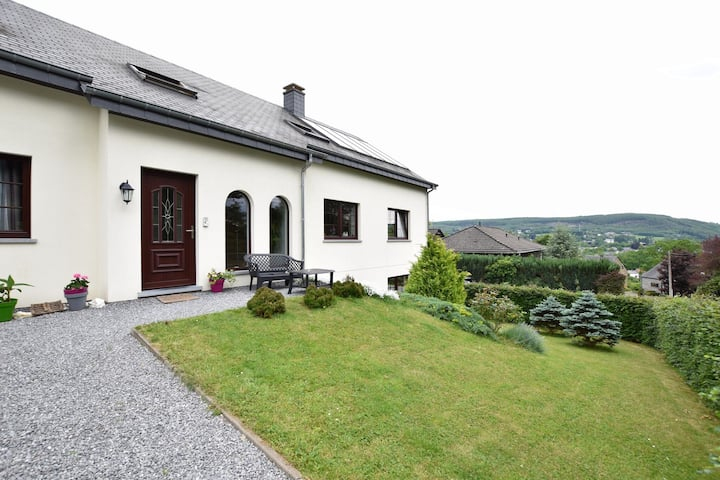 Quaint Apartment in Vielsalm with Private Terrace and Garden