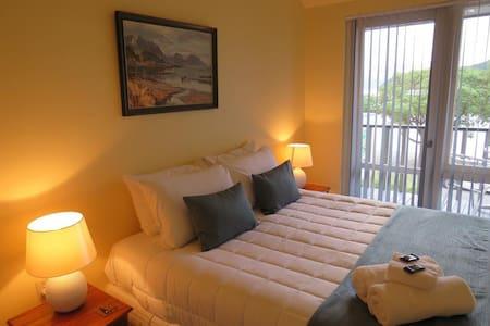 #62 The Turret · Akaroa's Premier Waterfront Apartments -The Turret