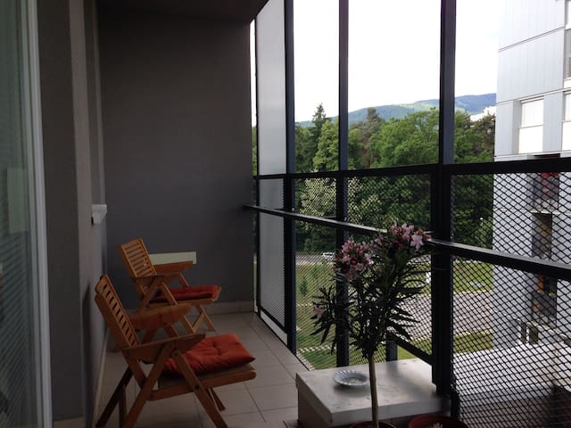 Bright apartment - big balcony - Maribor - Apartment