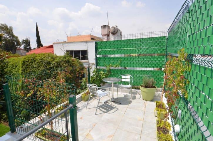 Loft privado con terraza - Naucalpan de Juárez - Leilighet