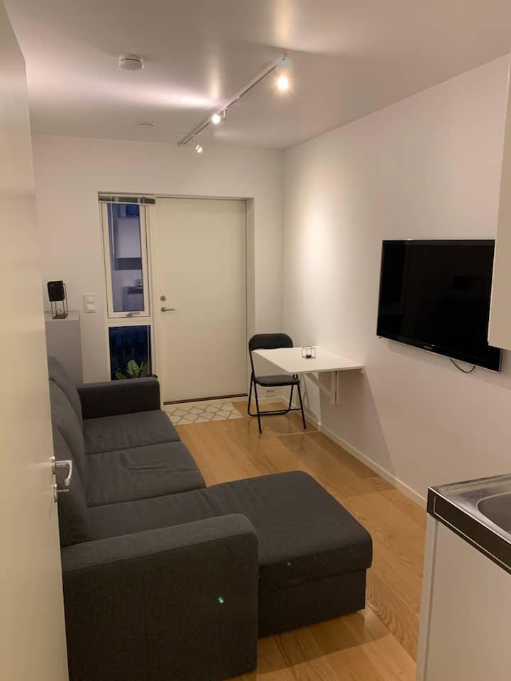 Lys og moderne leilighet med god beliggenhet