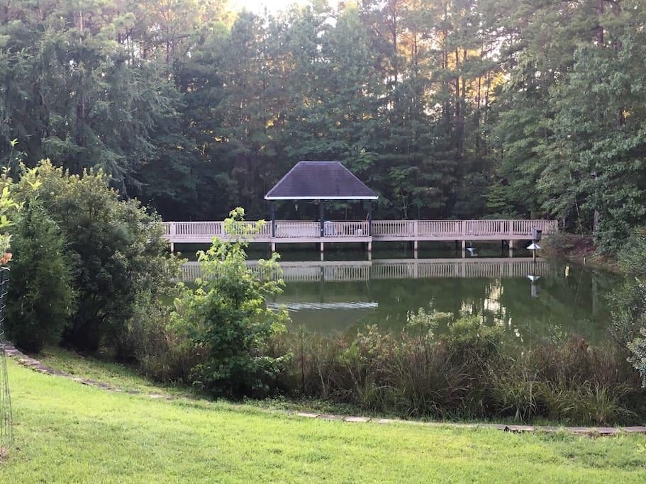 Gazebo on the Pond