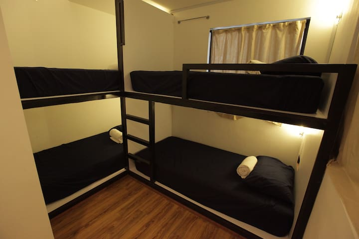 Hotel N45 -More Comfort, Less Price (4 beds dorm) - Kulai - Slaapzaal