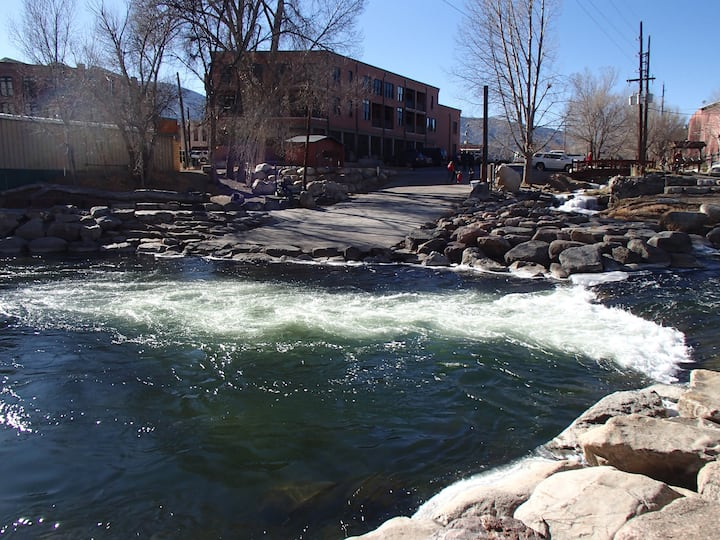 The BoatLaunch Luxury Condo Downtown Salida #0531