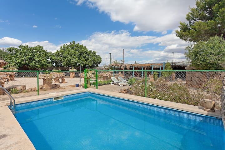 Casa para 4 con piscina privada en El Arenal - Palma - Ház