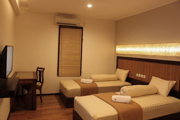 Twin Bed - Banjarmasin Tengah - Boutique hotel