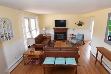 Quiet, in town, location with lots of room